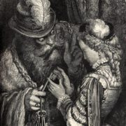 Bluebeard, engraving by Gustave Dore