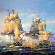 John Paul Jones captures British frigate Drake
