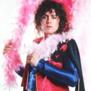 Marc Bolan - leader of the band T. Rex