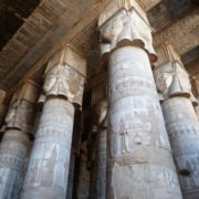 Columns in the Temple of Hatshepsut