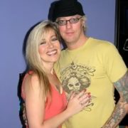 Jani Lane and his wife