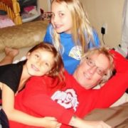 Jani Lane with his daughters