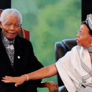 Mandela and his third wife