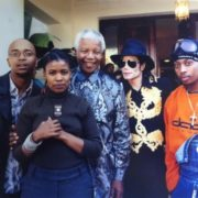 Michael Jackson and Mandela