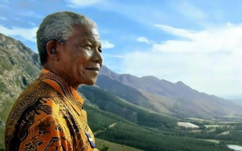 Nelson Mandela - South African leader