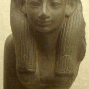 Statue of Hatshepsut in the Boston Museum of Fine Arts