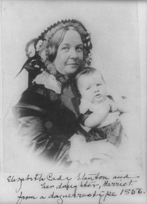 Abolitionist Elizabeth Cady Stanton