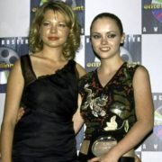 Actresses Michelle Williams and Christina Ricci