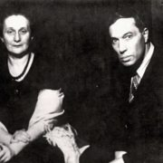 Anna Akhmatova and Boris Pasternak