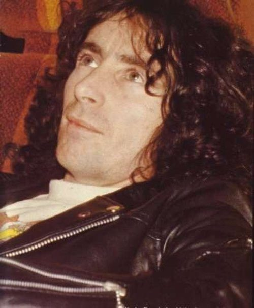Bon Scott - Australian rock musician