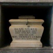 Bram Stoker's grave