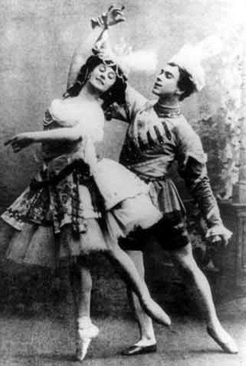 Celebrated Vaslav Nijinsky