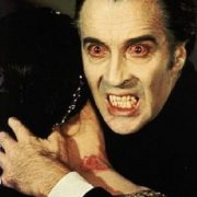 Christopher Lee. Dracula, 1958