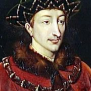 Dauphin Charles the eighth (future Charles VII)