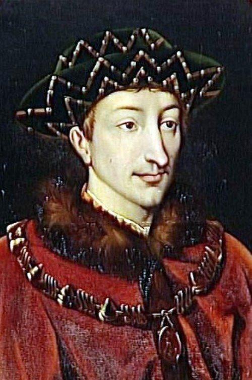 Dauphin Charles the eighth (future Charles VII)