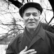 Famous writer Boris Pasternak
