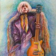 Fan art. Brian Jones