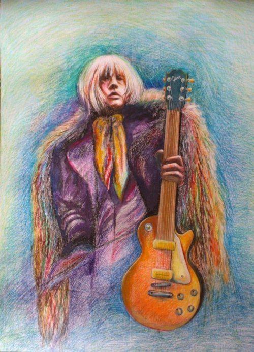 Fan art. Brian Jones