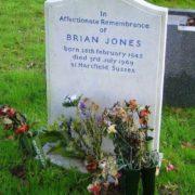 Grave of Brian Jones
