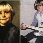 Kurt Cobain in his childhood