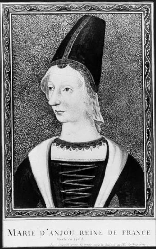 Maria of Anjou - wife of Charles VII