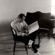 Nijinsky is working on the ballet, 1916