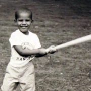 Obama in his childhood