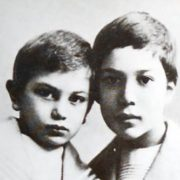 Pasternak in his childhood