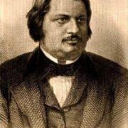 Renowned Honore de Balzac