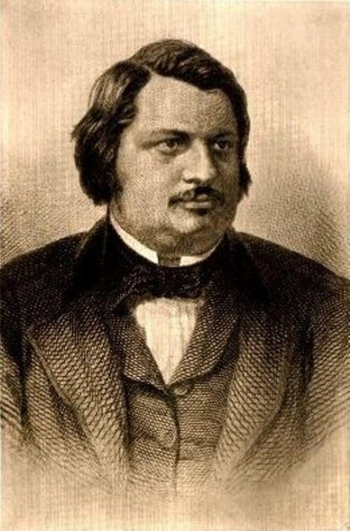 Renowned Honore de Balzac