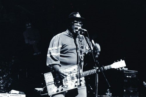 Talented Bo Diddley