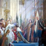 The coronation of Charles VII in Reims. 1889