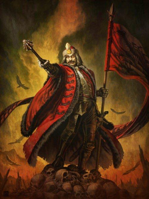 Vlad Dracula is a cruel warrior and ruler of Wallachia