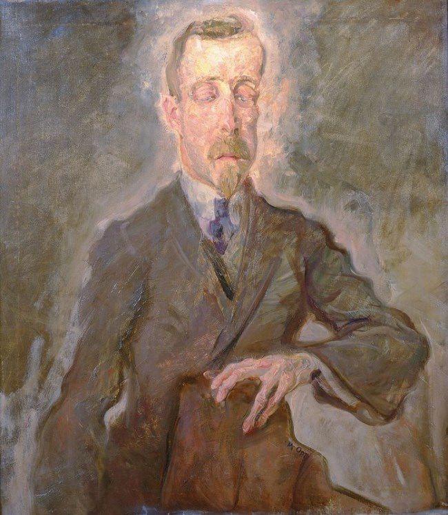 Max Oppenheimer, Heinrich Mann, 1910