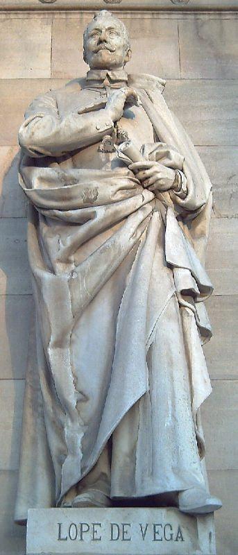 Monument to Lope de Vega in Madrid