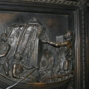 Peter I carries the relics of Alexander Nevsky to St. Petersburg