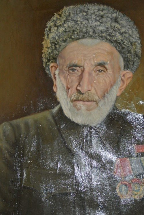 Portrait of Gamzat Tsadasa