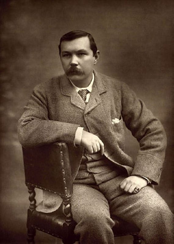 Arthur Conan Doyle by Herbert Rose Barraud, 1893