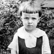 Bradbury in his childhood