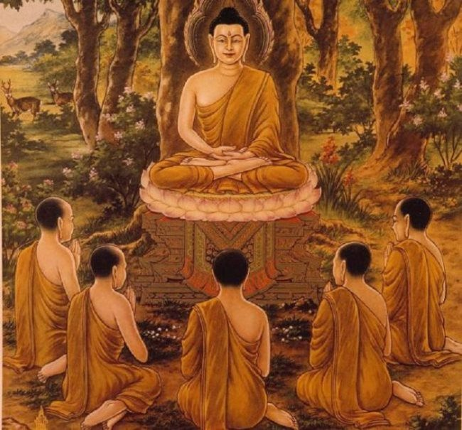 Buddha and his followers