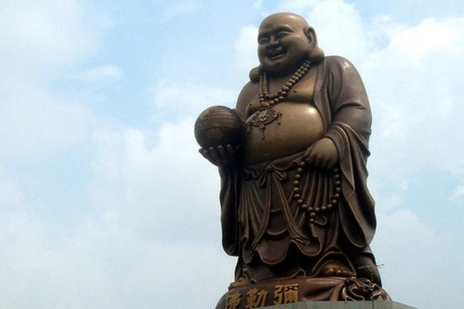 Buddha statue in Imei, China