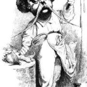 Cartoon on Gustave Flaubert