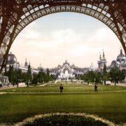 Champs de Mars, Exposition Universal, 1900, Paris, France