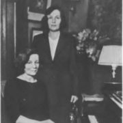 Daughters of the composer Elena Alexandrovna and Maria Alexandrovna