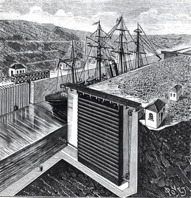 Design of the Panama Canal