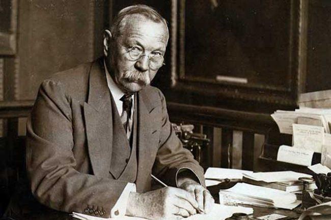 Famed Arthur Conan Doyle