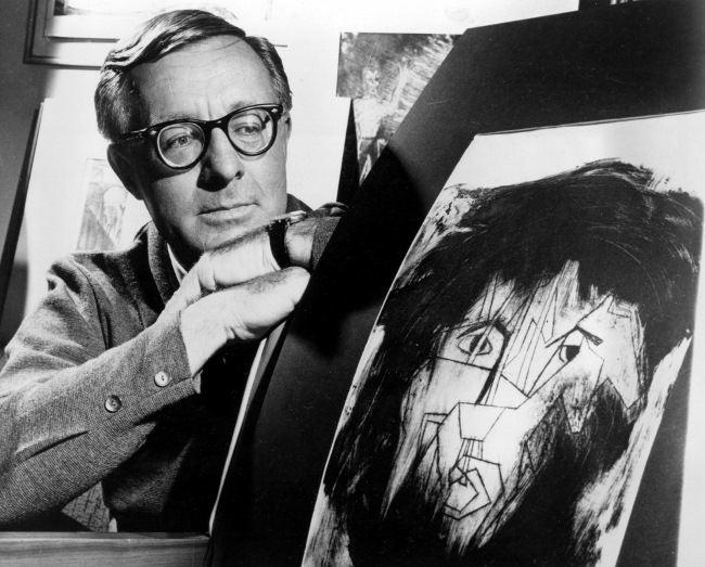 Great Ray Bradbury, 1966. (AP Photo)