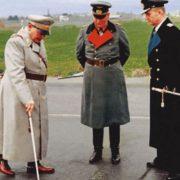 Hermann Goering is on the left