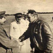 Legendary Chkalov and Stalin