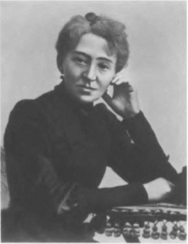 Lyubov Scriabina, aunt and teacher of the composer